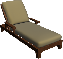 Chaise lounge cushions kingston d double adjustable for Chaise cushions cheap